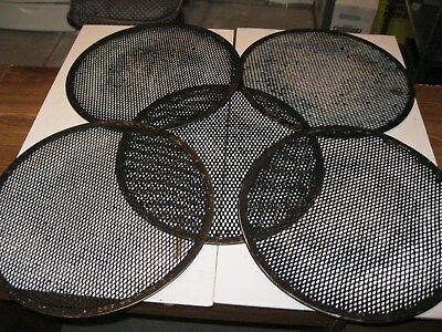 "14"" pizza baking screens. LOT of 5"