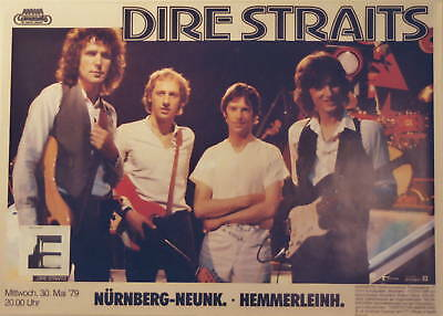 MARK KNOPFLER 12x18 TOUR POSTER 2019 CONCERT LIVE DIRE STRAITS SULTAN OF SWING 2