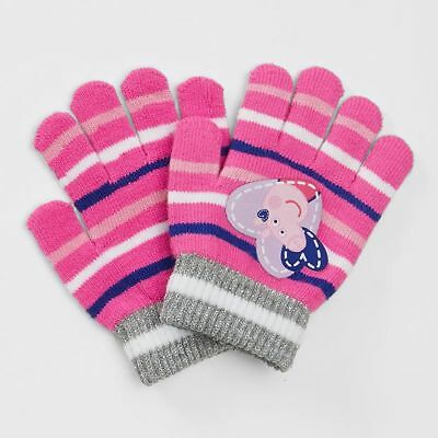 NEW Peppa Pig Knit Gloves Kids