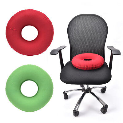 inflatable rubber ring round seat cushion medical hemorrhoid pillow donut +pumpL