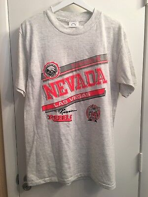 db60dcef61e7 Vintage UNLV University of Nevada Las Vegas Running Rebels shirt 90s size  Medium