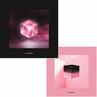 BLACKPINK SQUARE UP 1st Mini Album RANDOM CD+POSTER+Fotobuch+3p Karte+etc SEALED
