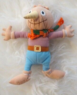 "Bob the Builder  SPUD THE SCARECROW 9"" Plush Stuffed Animal Toy"