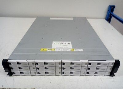 Dell Xyratex StorSimple HB-1235 12Bay SAS6 36TB 12x 3TB SAS 2x Controller 2x PSU
