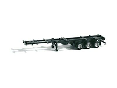 HO Scale Trucks - 40' 3 Axle Container Chassis
