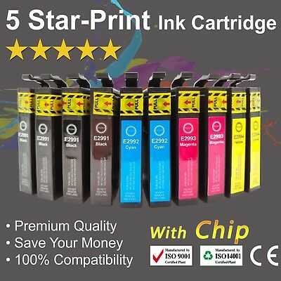 10 Ink Cartridges for Epson 29XL Expression Home XP235 XP332 XP335 XP432 XP435