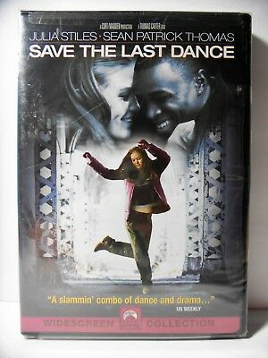 Save the Last Dance (DVD, 2001, Widescreen) - Julia Stiles - FACTORY SEALED
