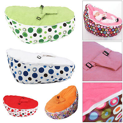 Baby Bean Bag Adjustable Harness Kids Toddler Chair Bouncer Beanbag Hot