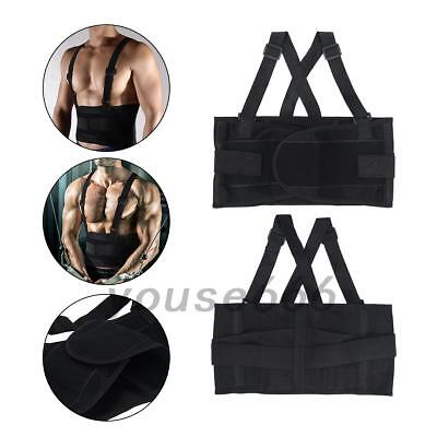 1Pc Weight Lifting Belt Waist Back Support Gym Fitness Training Straps Brace