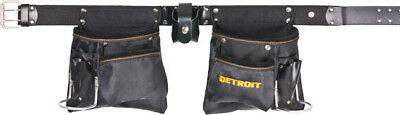 "Tool Belt 44"" 122Cm Leather With Holder, Carpenter"