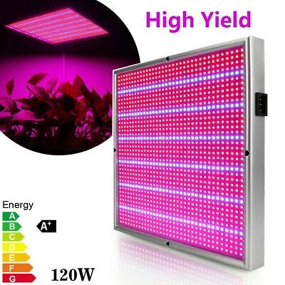 28W 120W LED Grow Light Panel Indoor Plant Hydroponic Veg Flower Seed Red Blue