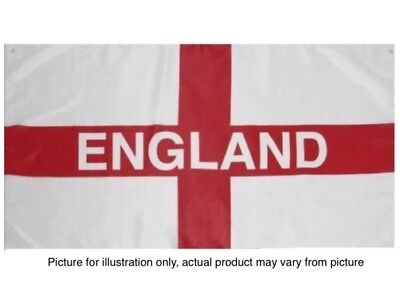 England Flag 3FT X 2FT St George Cross Flags English Pole Football Rugby Day