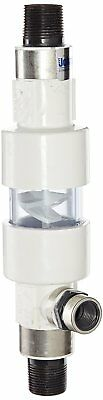 """Pulsafeeder STM100-PVC PVC Static Inline Mixer, 1"""" NPT, 3-25 GPM, 140 psi, For"""