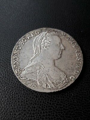 Österreich - Maria Theresia Taler 1780 ( S.F ) Silber
