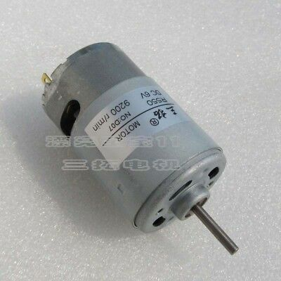 1pcs R550 DC 6/12V Long Shaft/Axis High Speed Hobby Motor for Toy Car/Model DIY