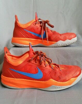 reputable site b4088 0caa5 NIKE ZOOM CRUSADER OUTDOOR basketball shoes mens size 10.5 orange
