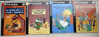 Kid Paddle 2 Jojo 4 Femmes en Blanc 7&13 4 albums collection Pirate Neufs 2001