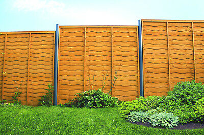Wooden Fence Panels  Six waves. Heights 6ft ,5ft, 4ft & 3ft