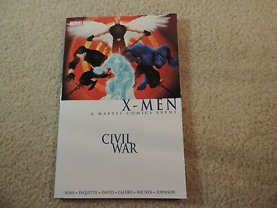 Civil War X-Men TPB