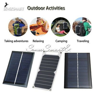 0.6/1/10W 0.5/5/6V 100mA Epoxy Cell Photovoltaic Battery Charger Solar Panel