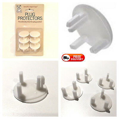 1-18 x UK Plug socket cover protector baby proof child safety guard electric