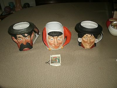 Dave Grossman Design MUGS 1979 Set of 3  The Saturday Evening Post