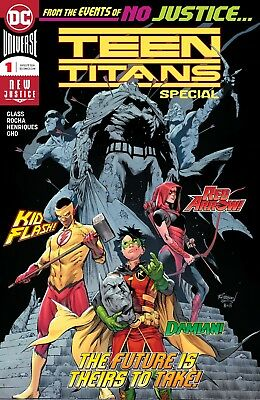 Teen Titans Special #1 (Pre-order Release Date 6-27-2018)