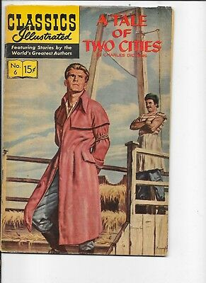Classics Illustrated  #6   HRN 166  A Tale of Two Cities