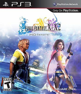 Final Fantasy X/X-2 HD Remaster (Sony PlayStation 3, 2014) - Disc Only