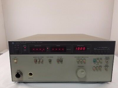 Agilent 4193A Vector Impedance Meter, 110MHz -- Ships today!