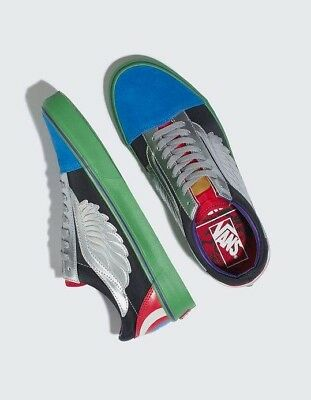 6a526c7a18b Vans x Marvel Avengers Old Skool Size 10.5 Captain America LIMITED EDITION  NEW