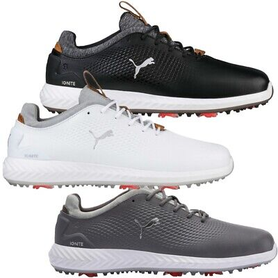 New 2018 Puma Ignite PwrAdapt Leather Golf Shoes - Pick Color and Size #190581