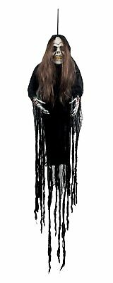 Boland 72070 Decorazione Zombie Woman Nero 170 cm