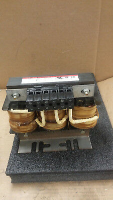 TCI KDRF4L 3PH 600V 77A KDR Drive Reactor with 71000 Series Terminal Block