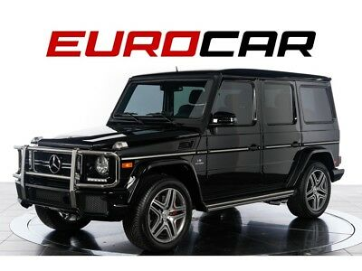 G-Class G63 AMG 2016 Mercedes-Benz G63 AMG - ONE OWNER, DESIGNO® EXCLUSIVE LEATHER PACKAGE