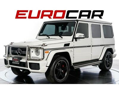 G-Class G63 AMG 2015 Mercedes-Benz G63 AMG - ONE OWNER, LOW MILES, AMG CARBON FIBER TRIM