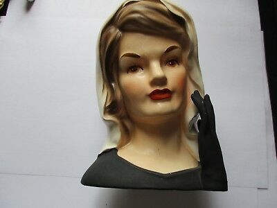 Inarco Jackie Kennedy Lady Head Vase 5999 Picclick