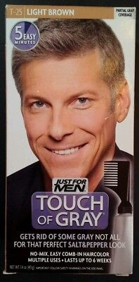 Just For Men Touch Of Gray Comb In S Hair Color Light Brown T