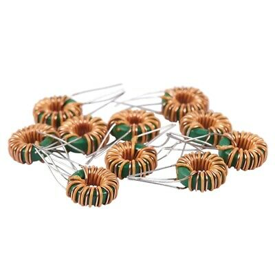 10 Pcs Toroid Core Common Mode Inductor Choke 1.2MH 40mOhm 2A Coil Y8X5
