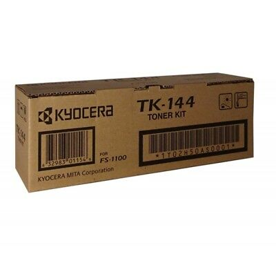 Genuine Kyocera TK-144 Black Toner for Kyocera FS-1100
