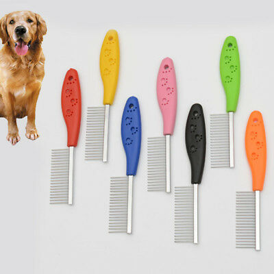 Trimmer Grooming Comb Brush Comb Rake Hair Shedding Flea For Pet Puppy Cat Dog