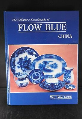 Antique reference book Collector's Encyclopedia of Flow Blue China