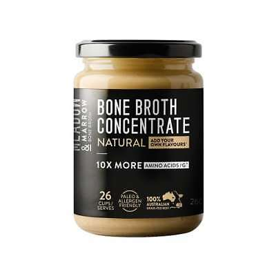 MEADOW & MARROW Natural Bone Broth Concentrate 260g