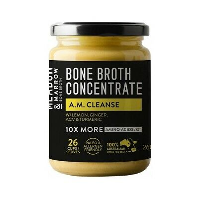 MEADOW & MARROW AM Cleanse Bone Broth Concentrate 260g