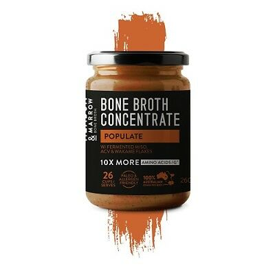 MEADOW & MARROW Populate Bone Broth Concentrate 260g