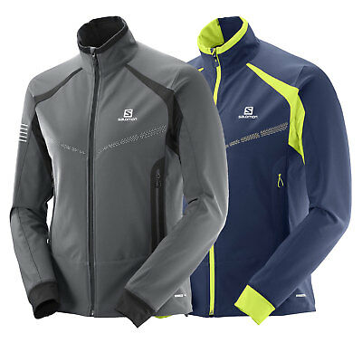 Salomon RS Warm Softshell Jacket Men's Functional Tracksuit Top Mid Layer