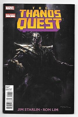 Thanos Quest NM One-Shot (Avengers Infinity War, 1st app Infinity Stones)