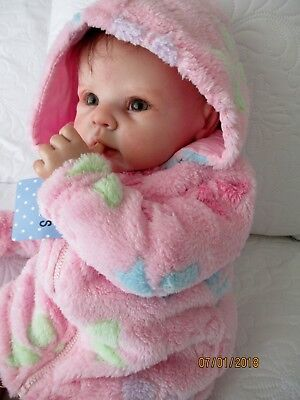 Snuggly Fleece Hooded Jacket For 0-3 Month Old Baby