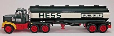 Vintage 1984 Hess Toy Truck Bank With Black Switch And Box Inserts