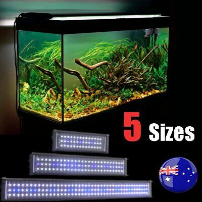 30-120CM Aquarium LED Light Lighting Full Spectrum Aqua Plant Fish Tank Lamp SAA